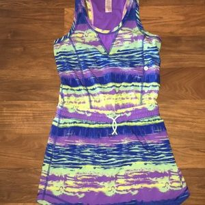 Girls ivivva lululemon 10 1 piece dress athletic